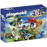 Playmobil 6687 Stratený ostrov s alien a Raptor - Stavebnica