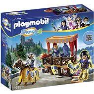 Playmobil 6695 Kráľovská tribúna s Alexom - Stavebnica