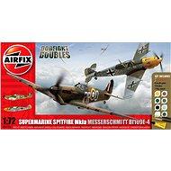 AirFix Gift Set A50135 letadlo – Supermarine Spitfire MkIa vs Messerschmitt Bf109E-4 - Model