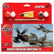 AirFix Starter Set A55107 letadlo – North American Mustang IV - Model