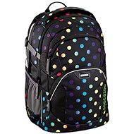CoocaZoo EvverClevver2 Magic Polka Colorful - Školský batoh