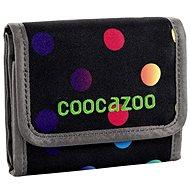 CoocaZoo CashDash Magic Polka Colorful - Peňaženka