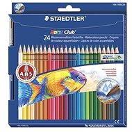 Akvarelové pastelky súprava 24 farieb - Pastelky