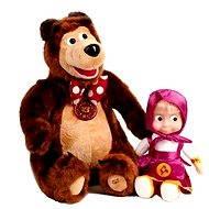 Máša a medveď - Súprava so zvukom - Plyšová hračka