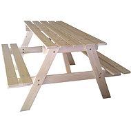 Cubs - Detský drevený piknik stolík veľký - Príslušenstvo na detské ihrisko