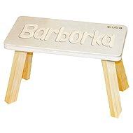 Prírodné stolička CUBS Barborka - Nábytok