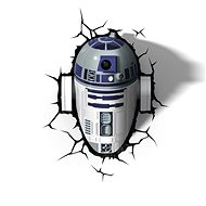 3D Svetlo Star Wars R2D2 - Osvetlenie do detskej izby