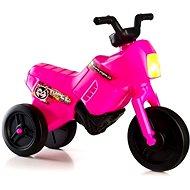 Odrážadlo Enduro Yupee, malé, ružové - Detské odrážadlo