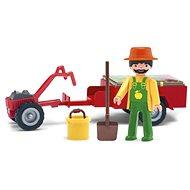 IGRÁČIK – Záhradník s traktorom a doplnkami - Herná súprava