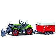 BRC 28611 Farm Traktor sa prívesom na kone - RC model