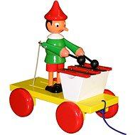 Ťahací Pinocchio s xylofónom - Ťahacia hračka