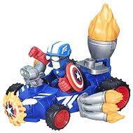 Avengers - Hero Mashers Captain America - Figúrka