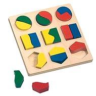 Bino Puzzle - Geometrické tvary - Skladačka