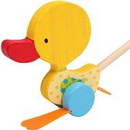 Ťahacie hračky - kolísavá kačica Tine - Ťahacia hračka