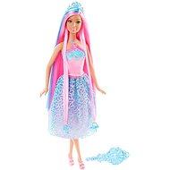 Mattel Barbie - Dlhovlásky s ružovými vlasmi - Bábika