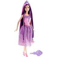 Mattel Barbie - Dlhovlásky s fialovými vlasmi - Bábika