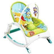 Mattel Fisher Price - Skladacie sedátko Rainforest 3 v 1 - Detské sedadlo