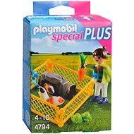 Playmobil 4794 Dievčatko s morčatami - Stavebnica