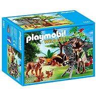 Playmobil 5561 Rysio rodina s filmárom - Stavebnica