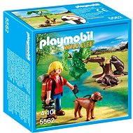 Playmobil 5562 Prírodovedec s bobry - Stavebnica