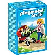Playmobil 5573 Kočík pre dvojčatá - Stavebnica