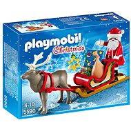 Playmobil 5590 Santa na saniach - Stavebnica