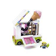 Mattel Fisher Price Mega Bloks Mimoňovia - zmrzlinárskej voz - Stavebnica