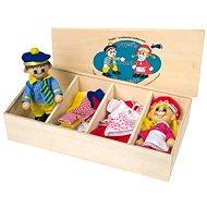 Šatník pre bábiky + 2 bábiky - Herný set