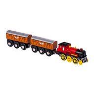Elektrická lokomotíva s 2 vagónikmi - Príslušenstvo k vláčikodráhe