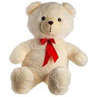 Medveď s mašľou - béžový - Plyšová hračka
