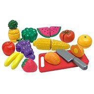 Ovocie a zelenina krájaná v krabičke - Herná súprava