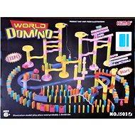 Guličkové dráha s dominom - Stavebnica