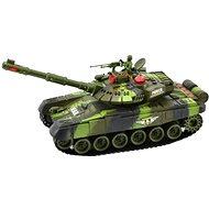 Tank s dobíjacím packom - zelený - RC model