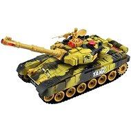 Tank s dobíjacím packom - žltý - RC model