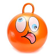 Skákacie loptu - Smajílk oranžový - Detské skákadlo