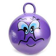 Skákacie loptu - Smajílk fialový - Detské skákadlo