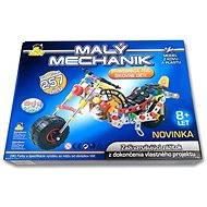 Malý mechanik - Motorka - Stavebnica