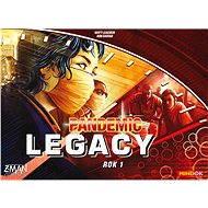Pandemic Legacy - Rok 1 (Červená krabica) - Spoločenská hra