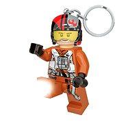 Lego Star Wars Poe Dameron svietiace figúrka - Kľúčenka