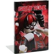 LEGO Batman Movie Zápisník Harley Quinn/Batgirl - Blok na písanie