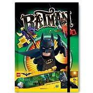 LEGO Batman Movie Zápisník Batman - Blok na písanie
