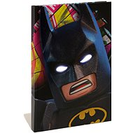 LEGO Batman Movie Zápisník Batman LED - Blok na písanie