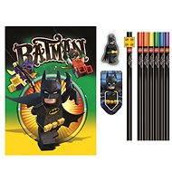 LEGO Batman Movie Papiernický set so zápisníkom - Súprava kancelárskych potrieb