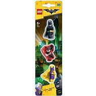 LEGO Batman Movie Mazacia gumy Batman / Batgirl / Harley Quinn - Súprava kancelárskych potrieb