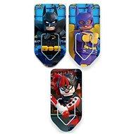 LEGO Batman Movie Záložky Batman / Harley Quinn / Batgirl - Súprava kancelárskych potrieb