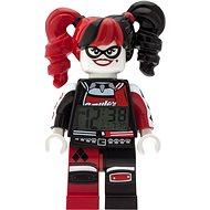LEGO Batman Movie Harley Quinn hodiny s budíkom - Hodiny do detskej izby