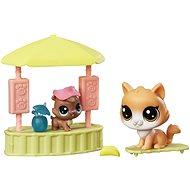 Littlest Pet Shop Plážový bar s 2 zvieratkami - Herný set