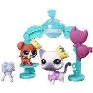 Littlest Pet Shop Školský ples s 2 zvieratkami - Herný set