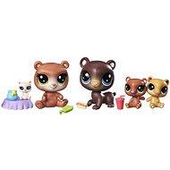 Littlest Pet Shop zberateľská set medvedíkov - Herný set