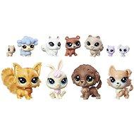 Littlest Pet Shop Veľký zberateľský set 11 ks domáci maznáčikovia - Herný set